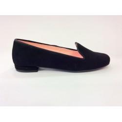 Zapatos de ante negro
